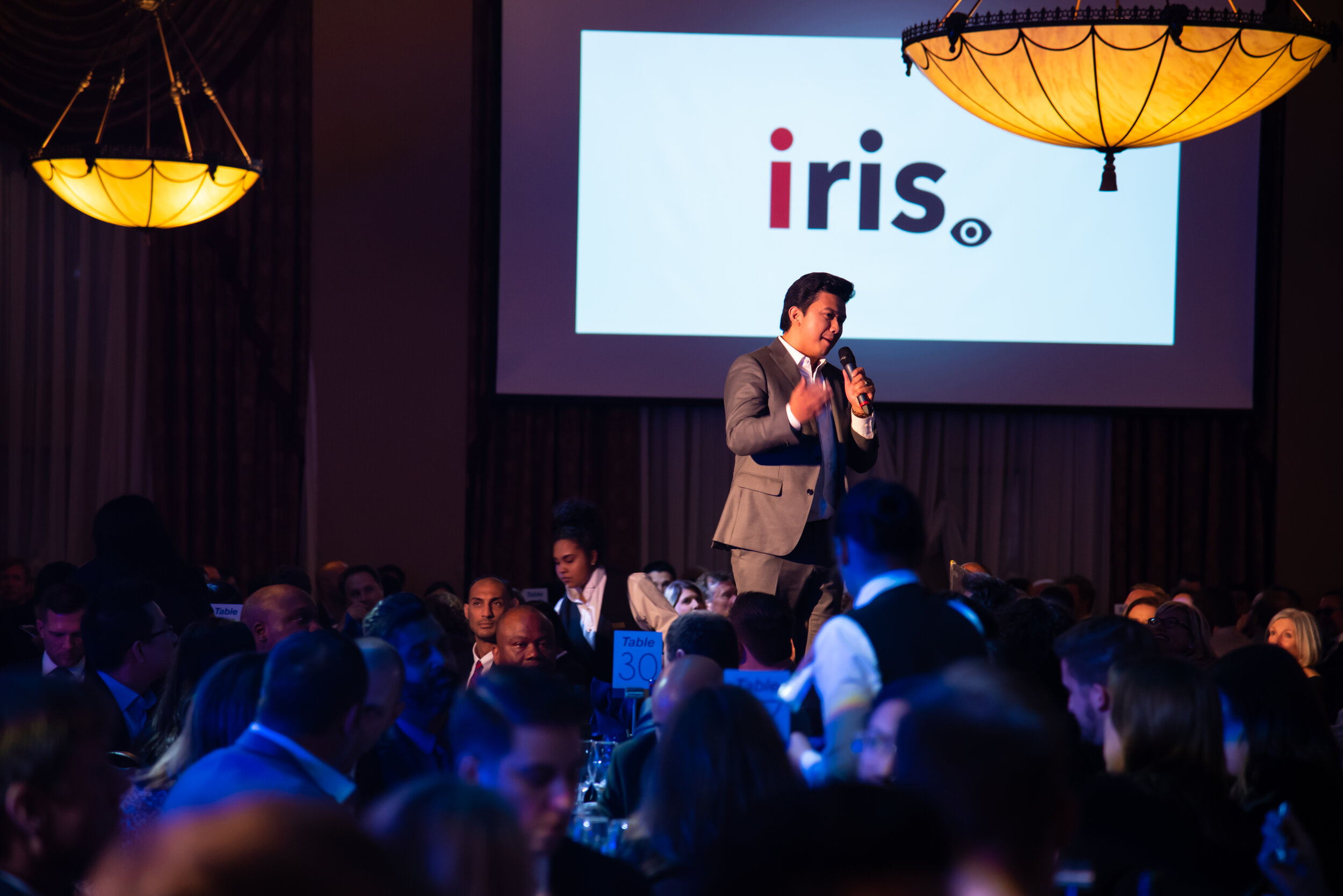 IRIS CEO Emil Sylvester Ramos wins the 2019 Lions Lair 3 month competition.