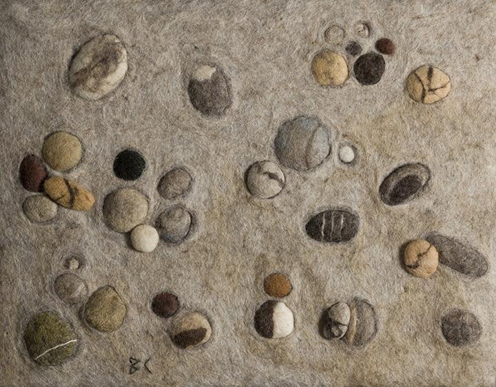 """Beach Rocks"" by Barbara Cade©"