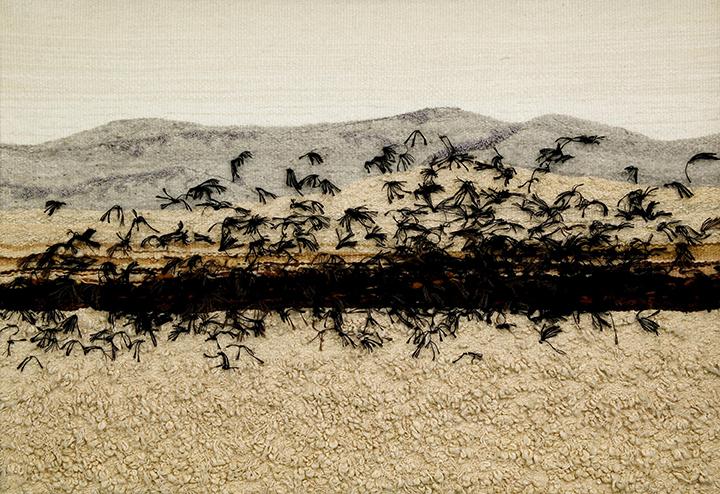 """Birds in Flight"" by Barbara Cade ©1988"