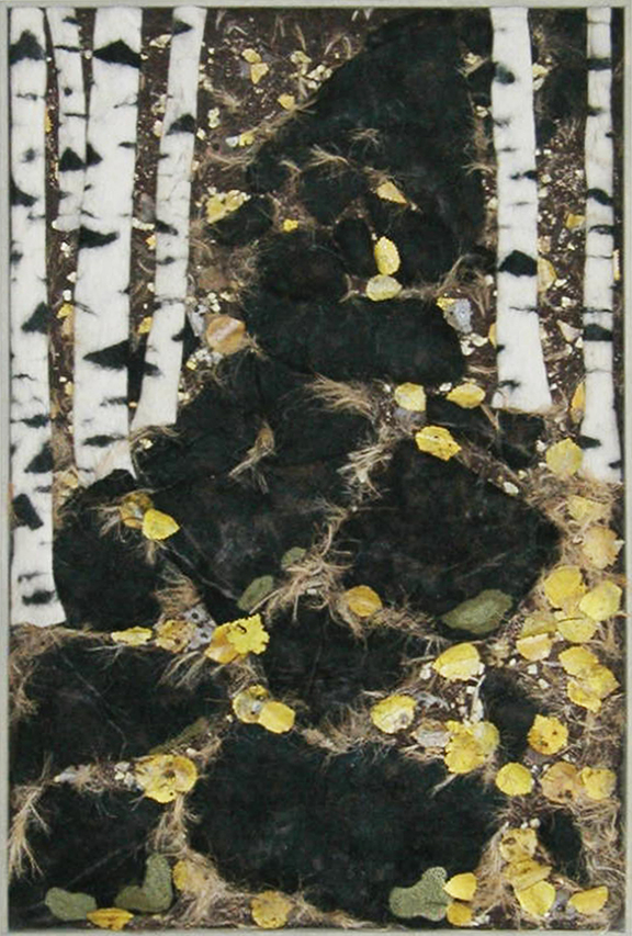 """Finland: The Path to Lake Saimaa"" by Barbara Cade ©2004"