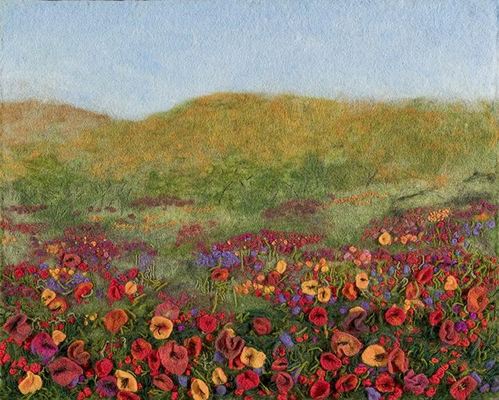 """Flower Field"" by Barbara Cade ©2007"