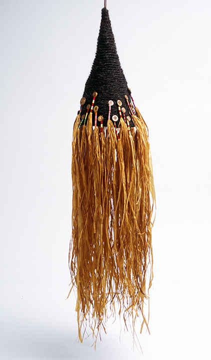 """Hair Hat #2"" by Barbara Cade ©1984"