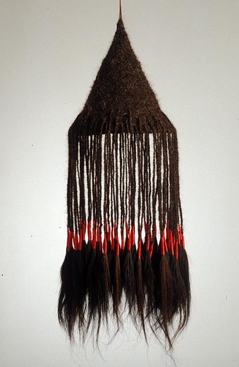 """Hair Hat #4"" by Barbara Cade ©1984"