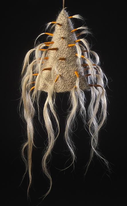 """Hair Hat #5"" by Barbara Cade ©1984"
