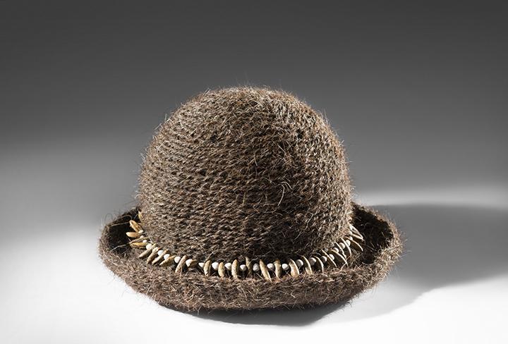 """Hair Hat #7"" by Barbara Cade ©1985"