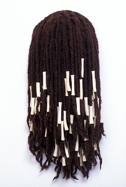 """Hair Hat #8"" by Barbara Cade ©1985"