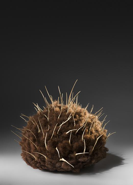 """Hair Hat #9"" by Barbara Cade ©1985"