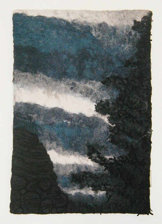 """Washboard Sky"" Supai, AZ by Barbara Cade ©2001"