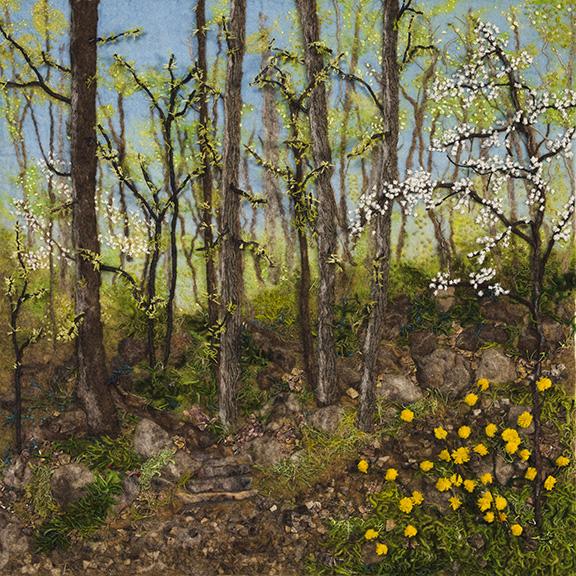 """""""Springtime"""" by Barbara Cade ©"""