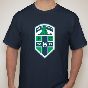Dark Blue Med City FC Shirt