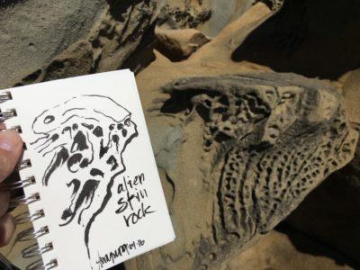 Alien Skin Rock