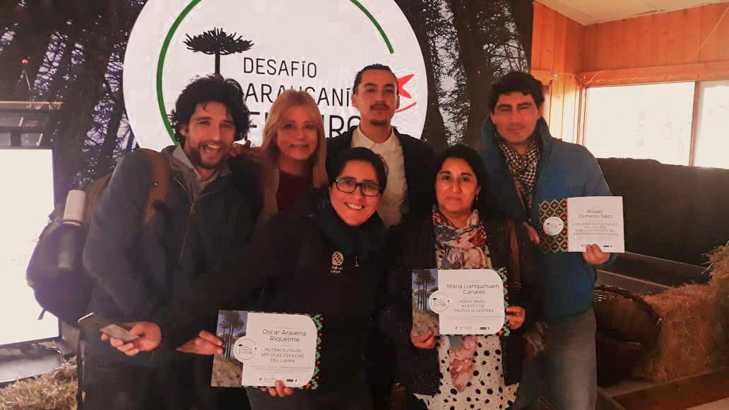 Premiación Desafío Levantemos Chile