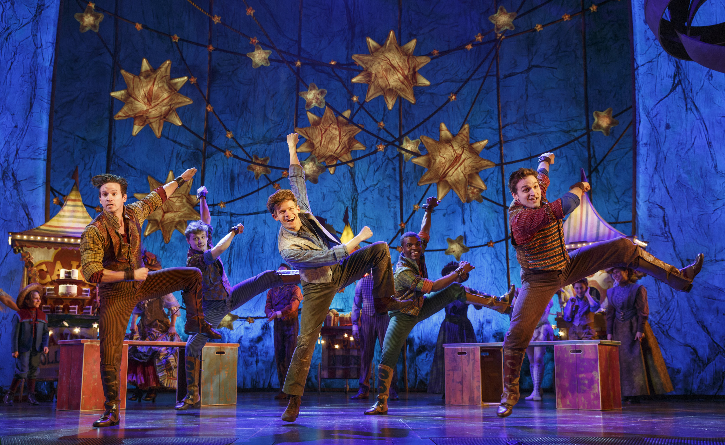 Andrew Keenan-Bolger and the cast of Tuck Everlasting on Broadway (Joan Marcus).