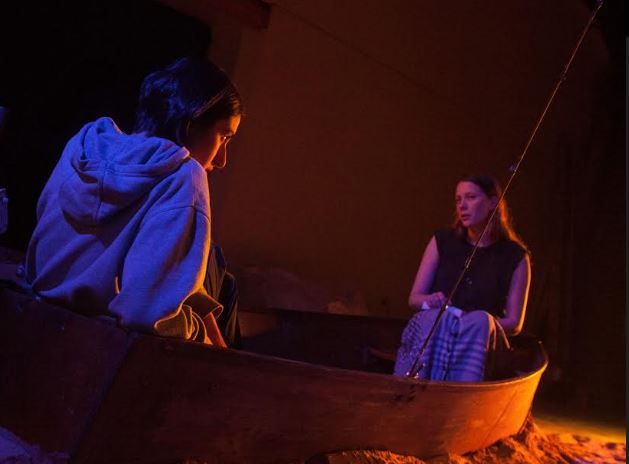 Diana Popovska and Brenna Harding in the Australian premiere of THE GULF by Audrey Cefaly. Directed by Mia Lethbridge.