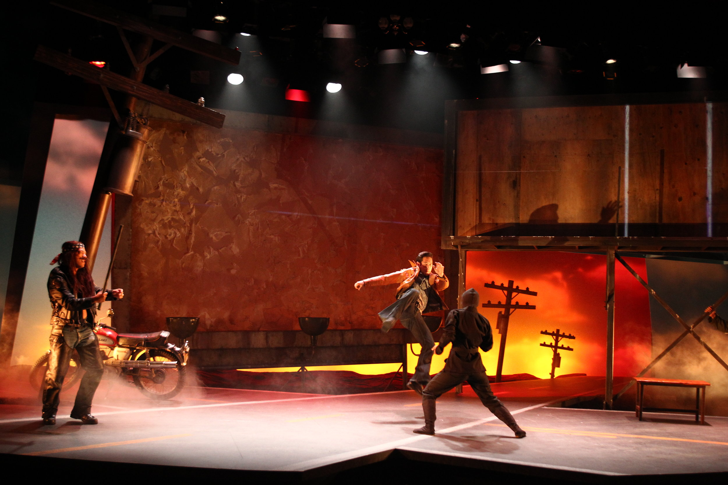 South Coast Repertory's production of  Vietgone .