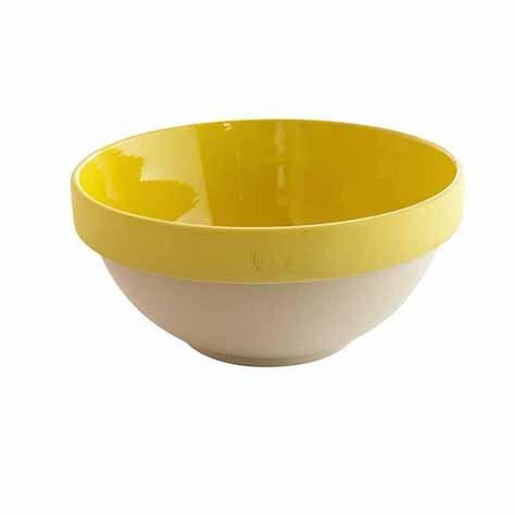 Saladier et Bol - Jaune moutarde