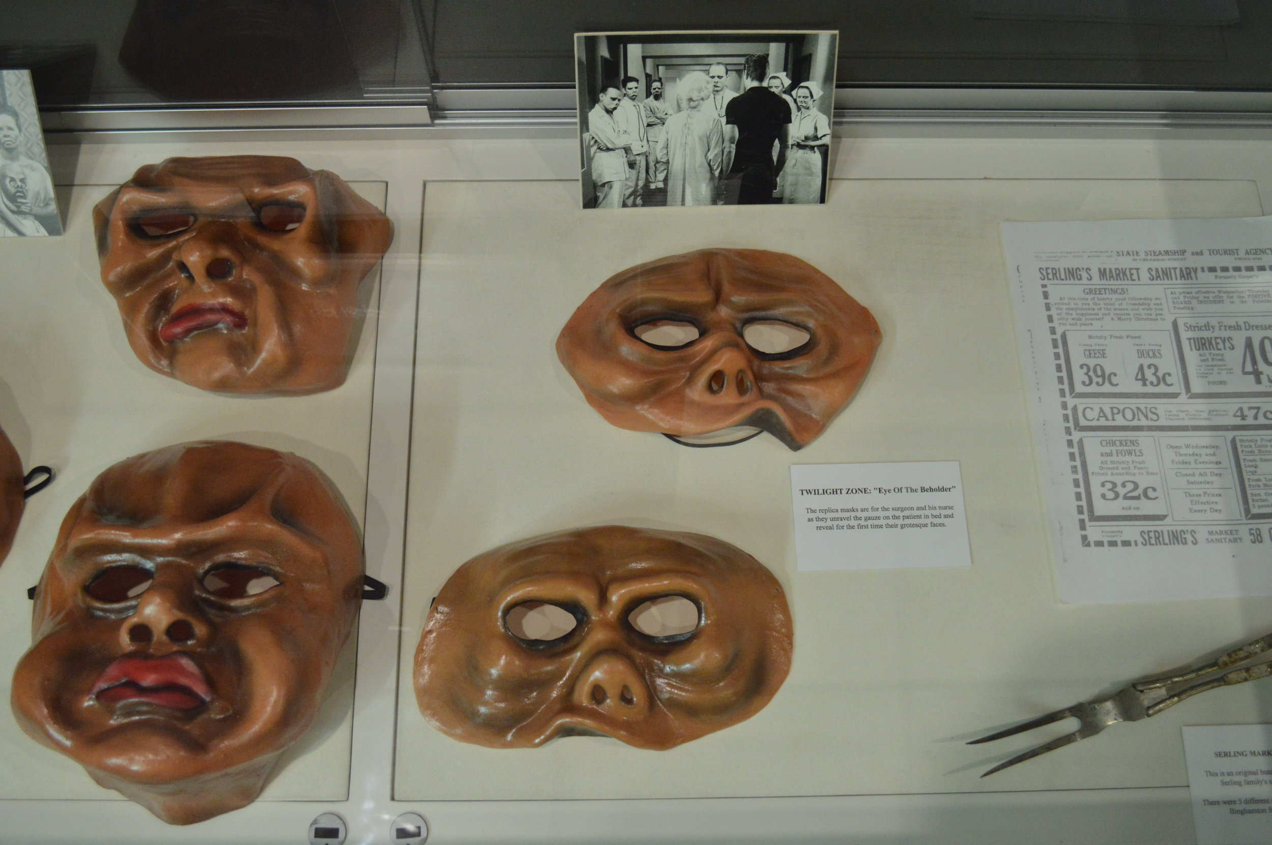 Various props from Twilight Zone episodes