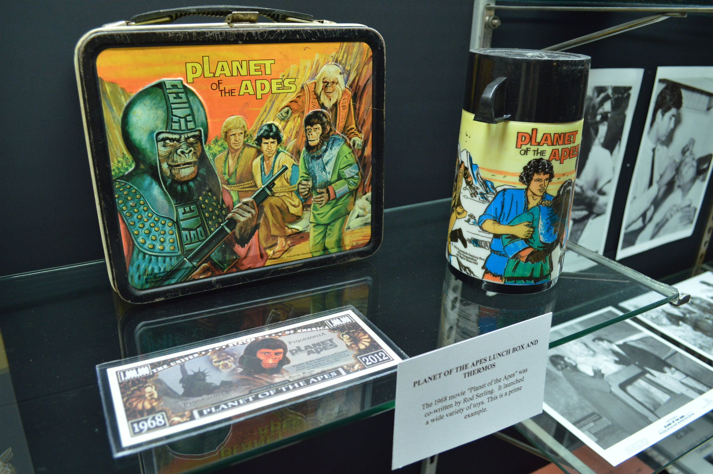 Licensed lunch box and thermos