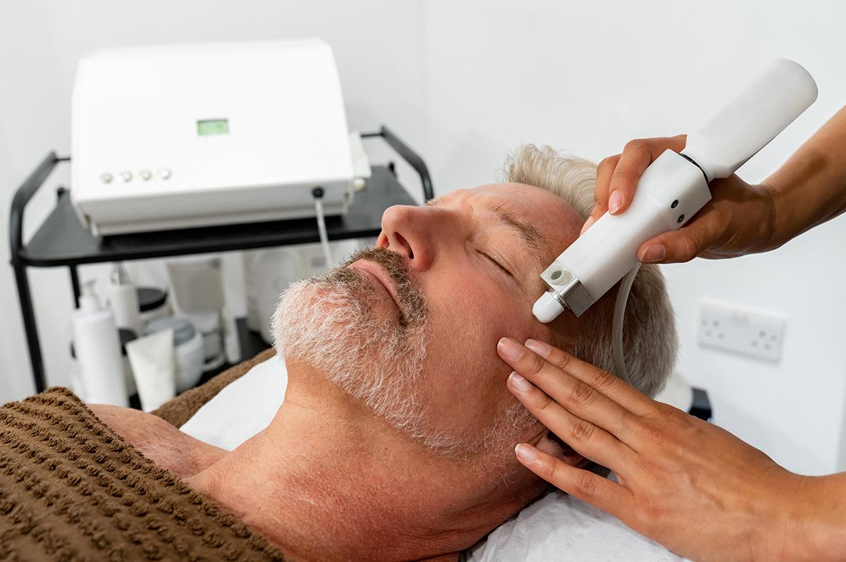 sb laser treatment on man.jpg