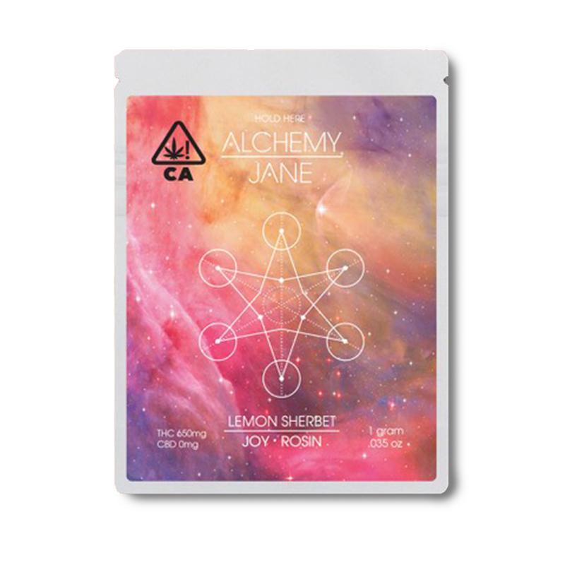 Alchemy Jane , Lemon Sherbet  1g Full Spectrum Solventless Rosin