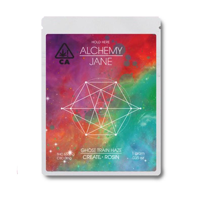 Alchemy Jane , Ghost Train Haze  1g Full Spectrum Solventless Rosin
