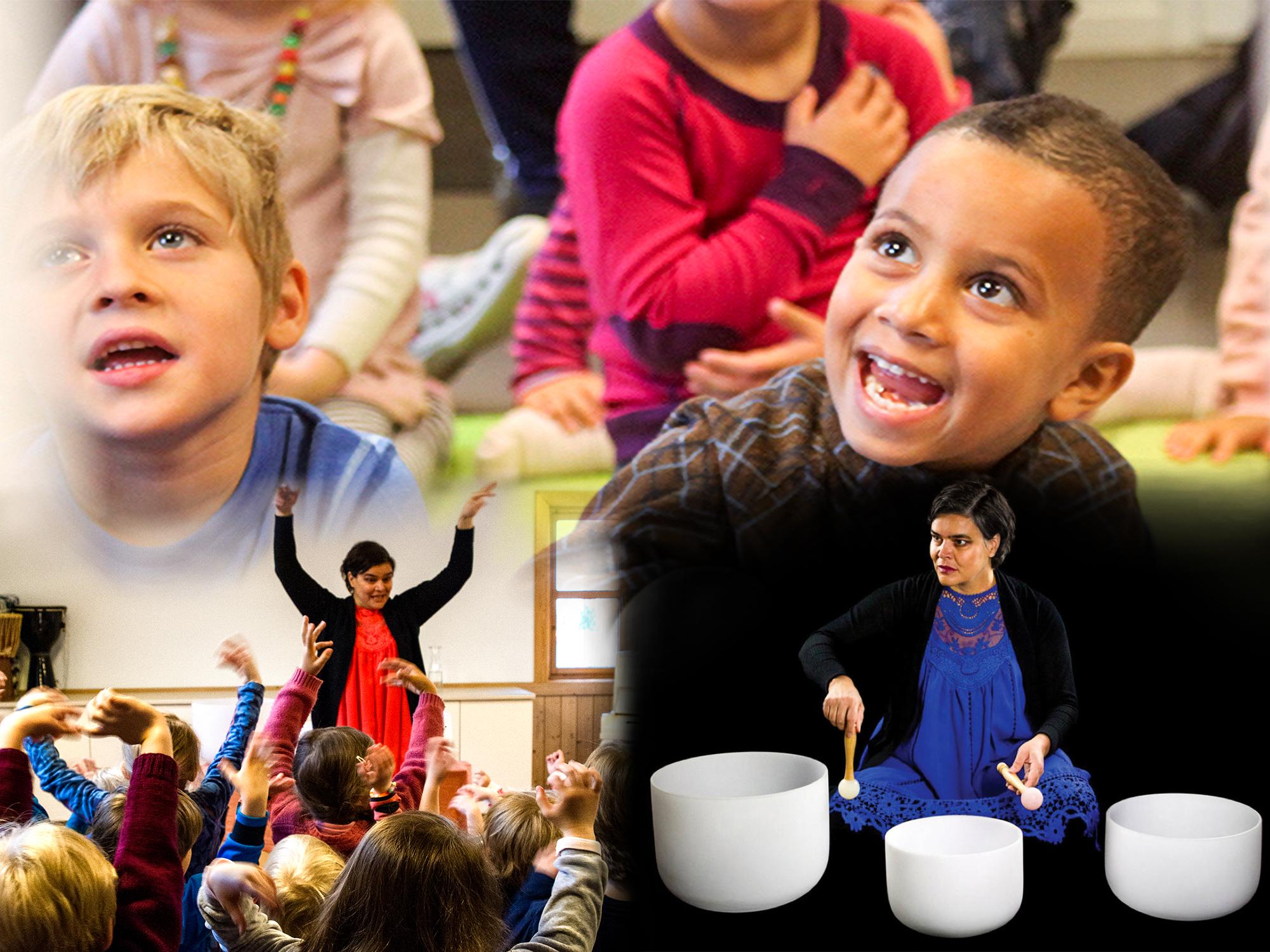 Sonia Loinsworth har gitt 500 konserter for barn i Norge de siste tre årene. Foto: Hielke Gerittse, B. Fredheim