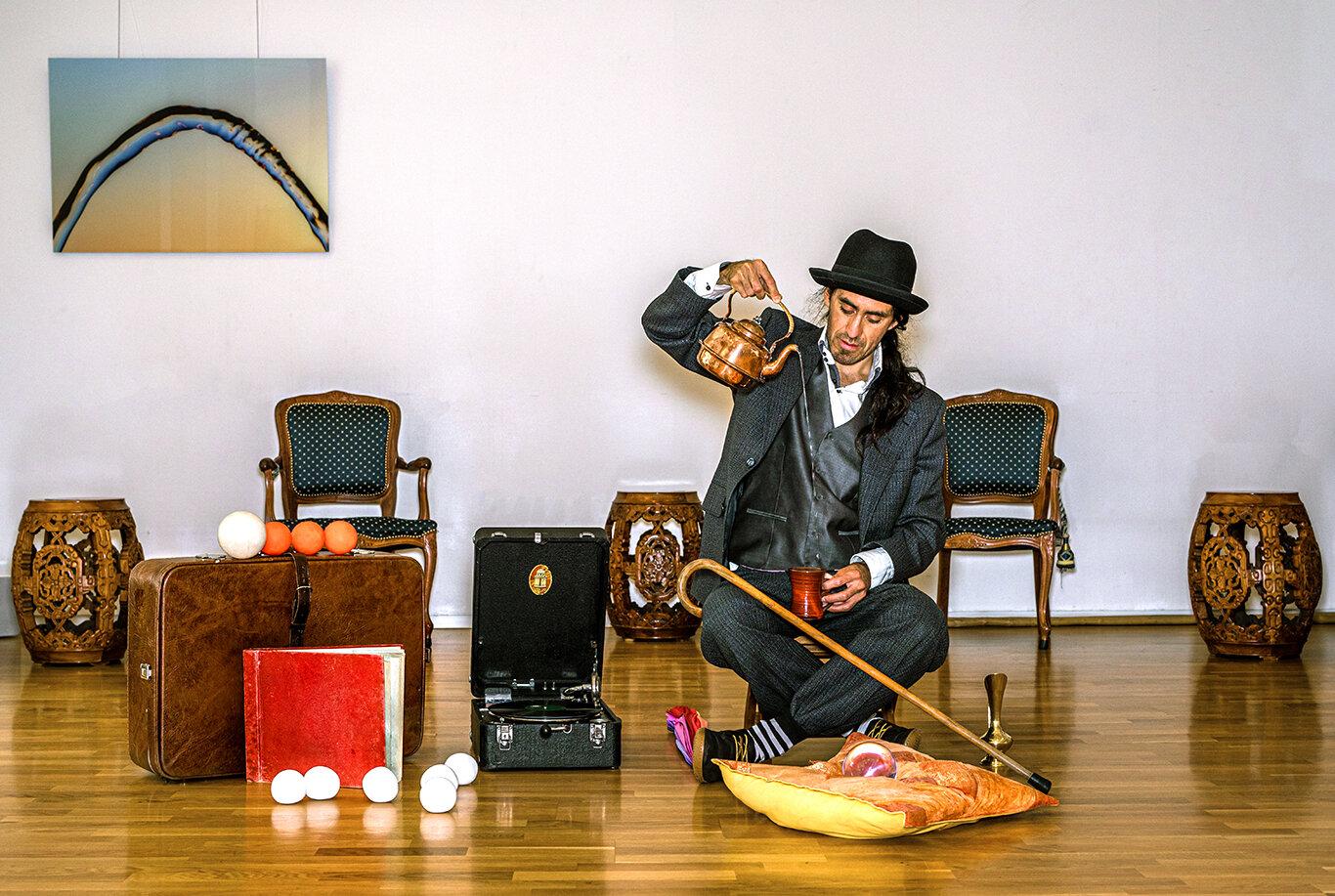 Diego Belda som Den Evigunge Bestefaren Lalo. Foto: Hielke Gerritse