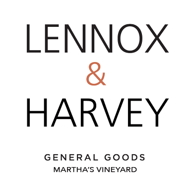 Lennox & harvey - Lennox and Harvey is located on Main Street in Vineyard Haven. An elegant store filled with unique goods for the beach, body and home.