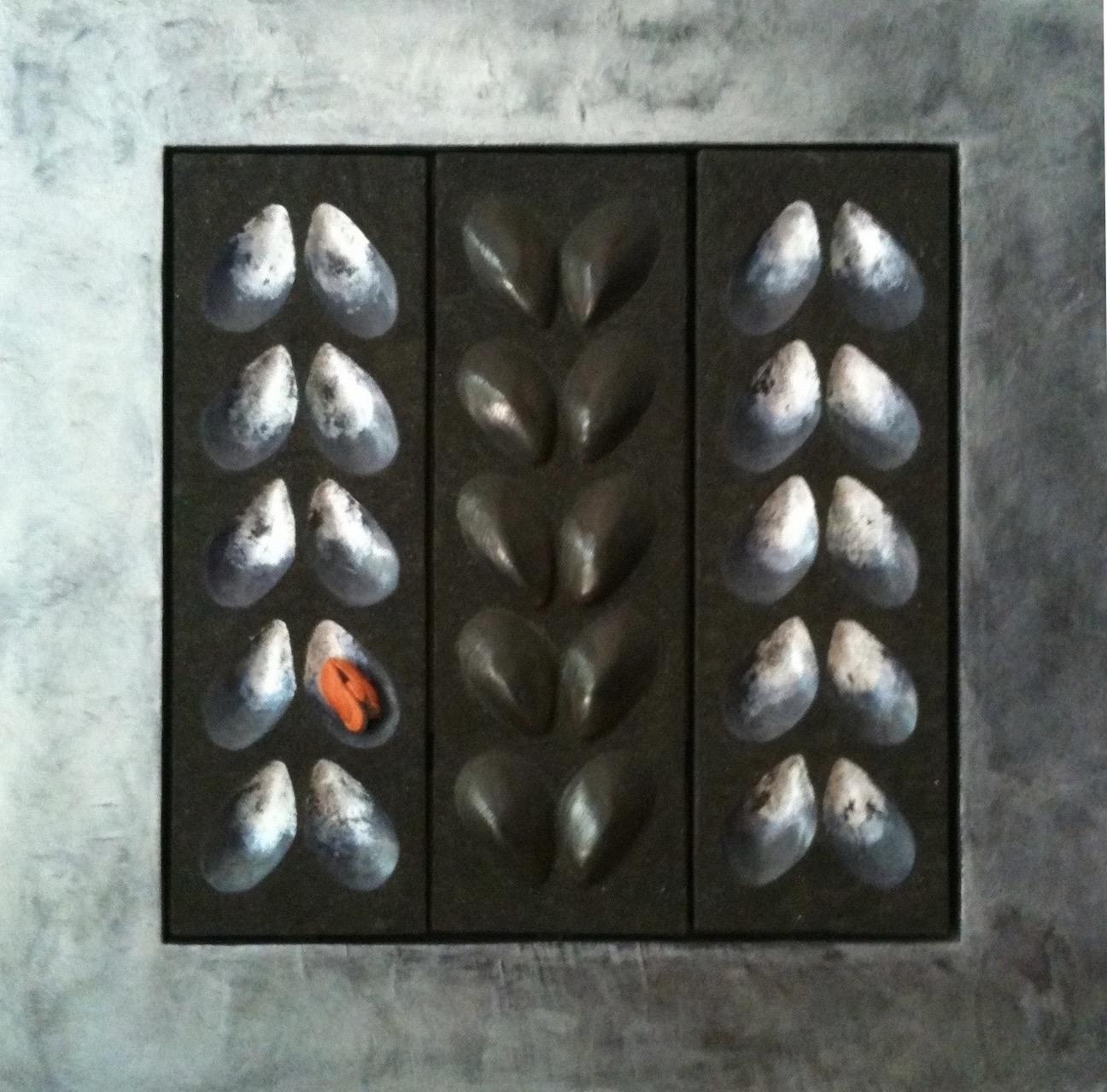 "Mussels  24"" x 24"""