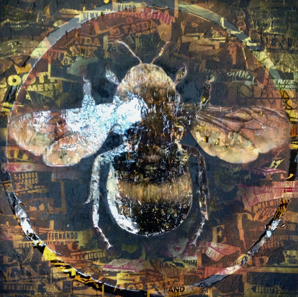 "Bumblebee  48"" x 48"""
