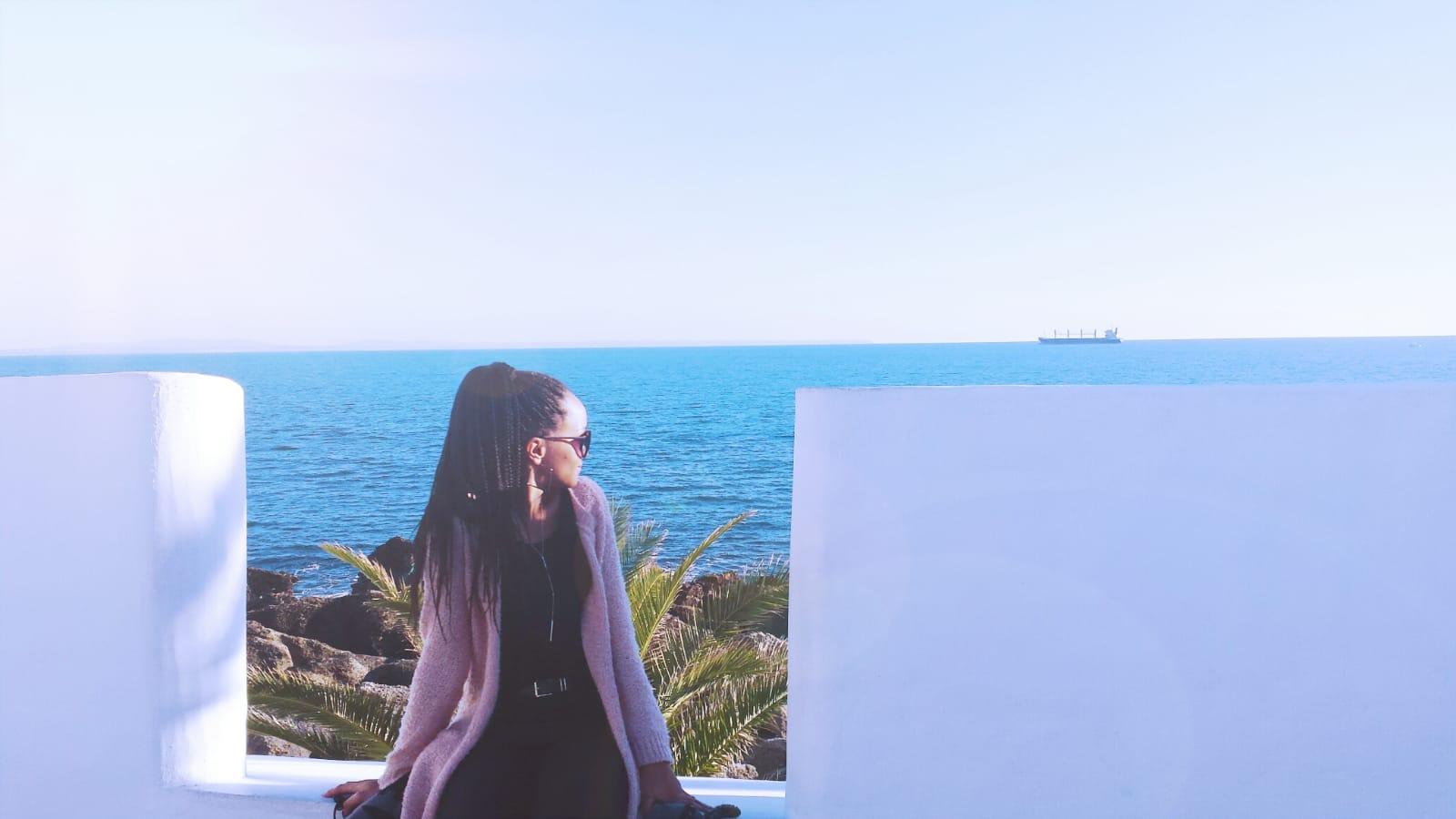 Autorin Luana im Urlaub, (C) Luana Tavares