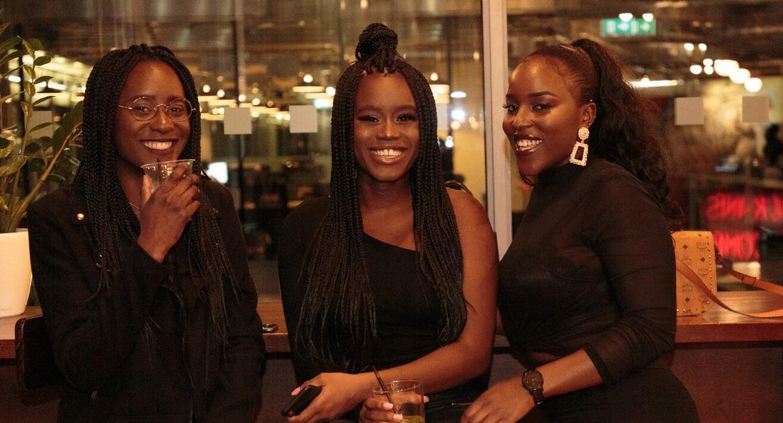 Three beautiful ladies connecting at the first CURL Ambassador Event, (C) Philipp Primus
