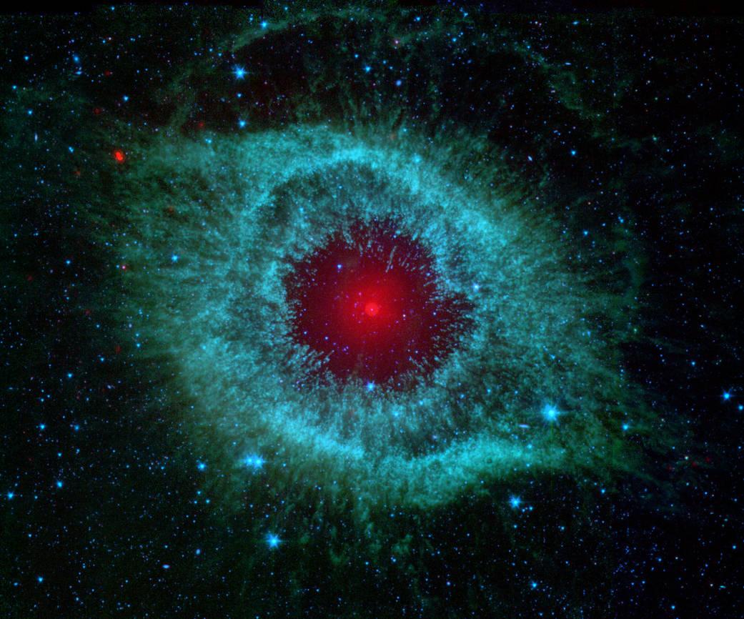 Image credit: NASA, JPL-Caltech, Kate Su (Steward Obs, U. Arizona) et al.
