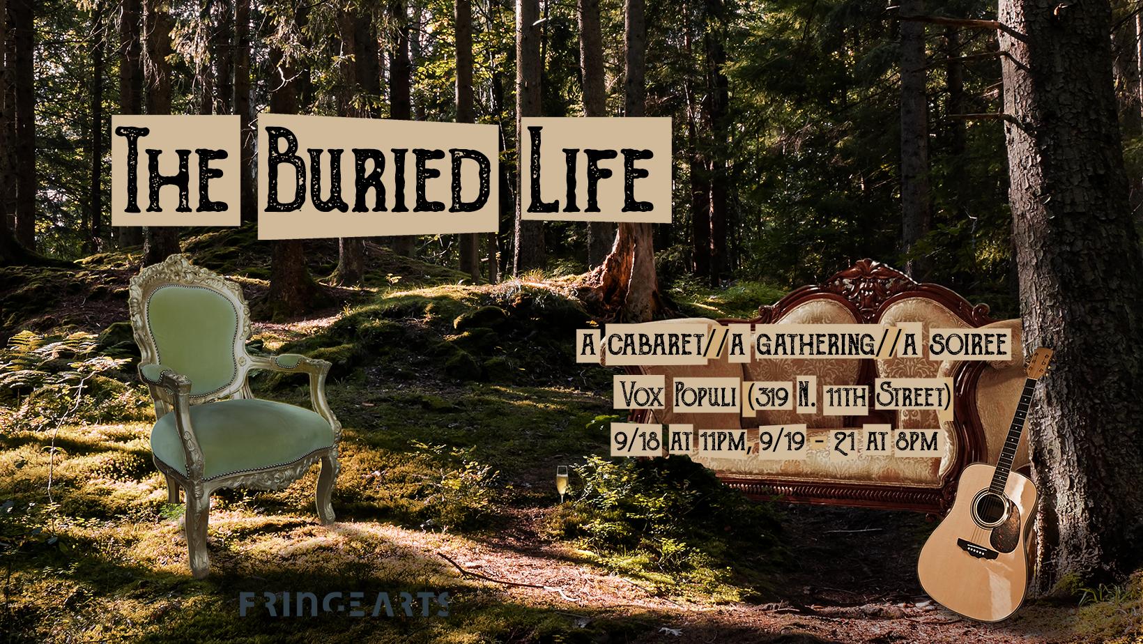 The Buried Life - EnsembleFringe Festival September 2018
