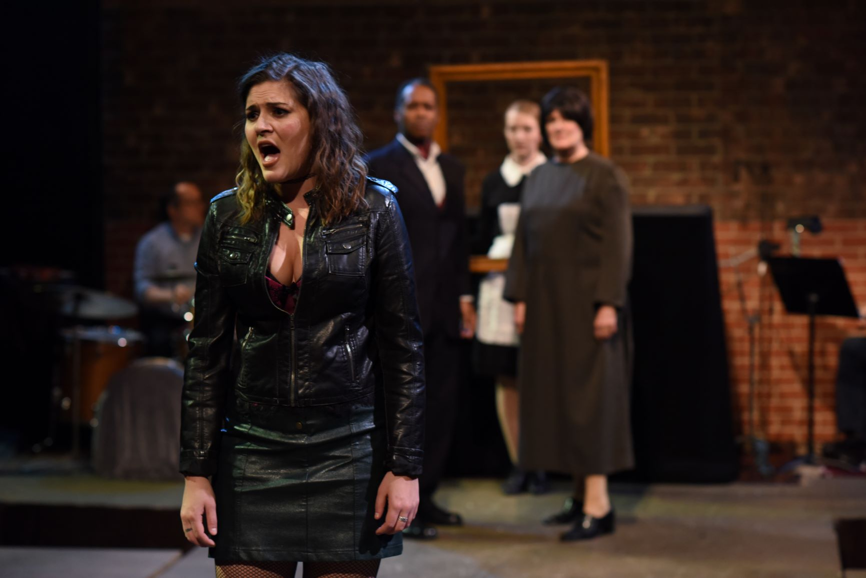 """Nancy in """"Oliver"""" at Quintessence Theatre Group"""