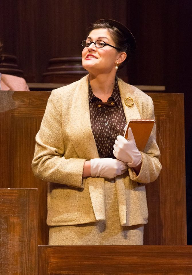 """Dr. Wyatt in """"Witness for the Prosecution"""" at Bristol Riverside Theatre"""
