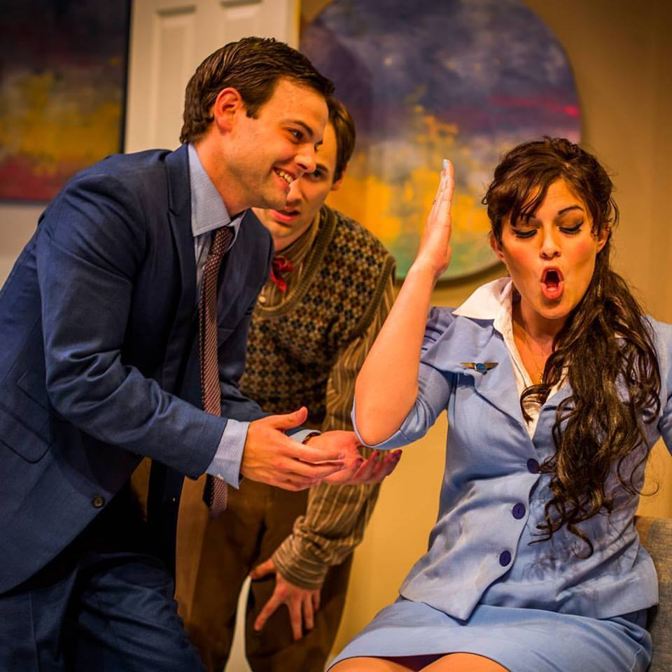 """Gabriella in """"Boeing Boeing"""" at Hedgerow Theatre Company"""