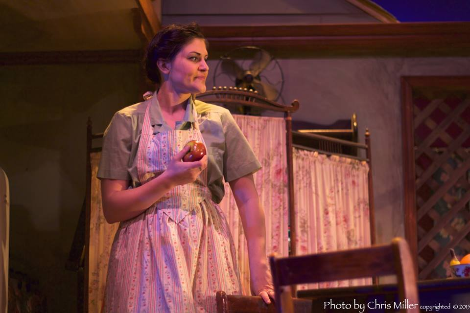 """Eunice in """"A Streetcar Named Desire"""" at The Ritz"""