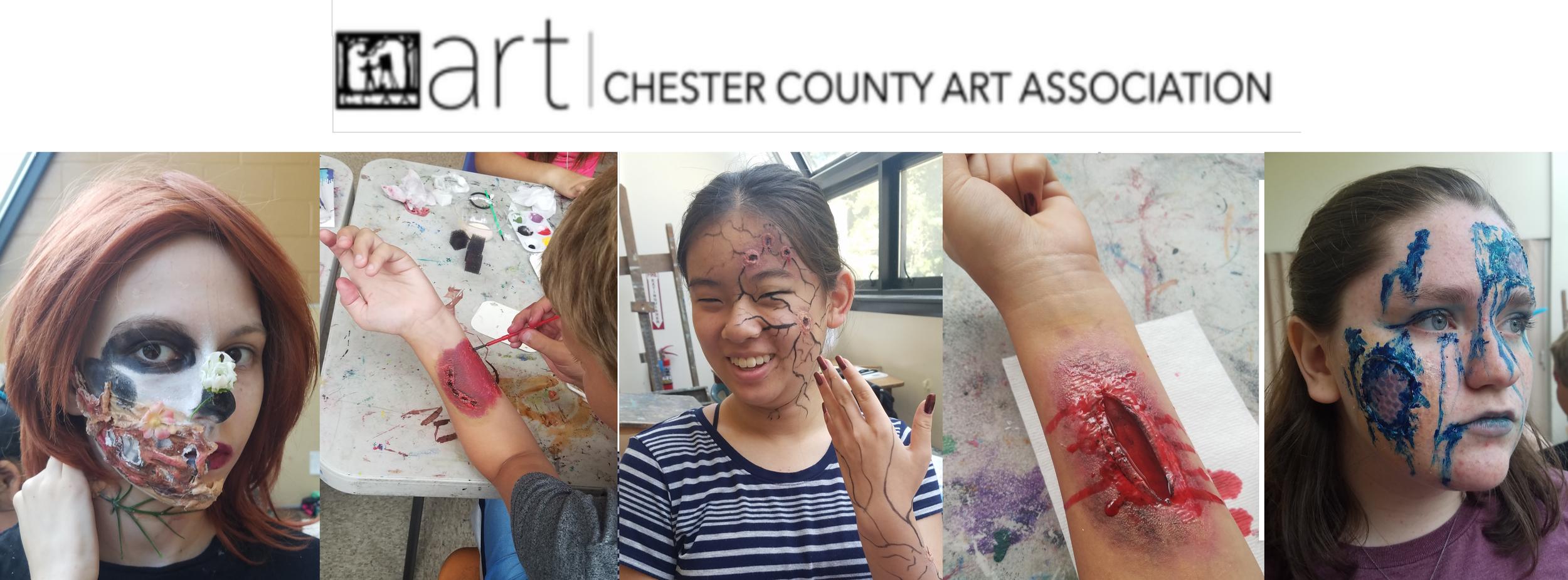 Makeup Artist - Chester County Art Association