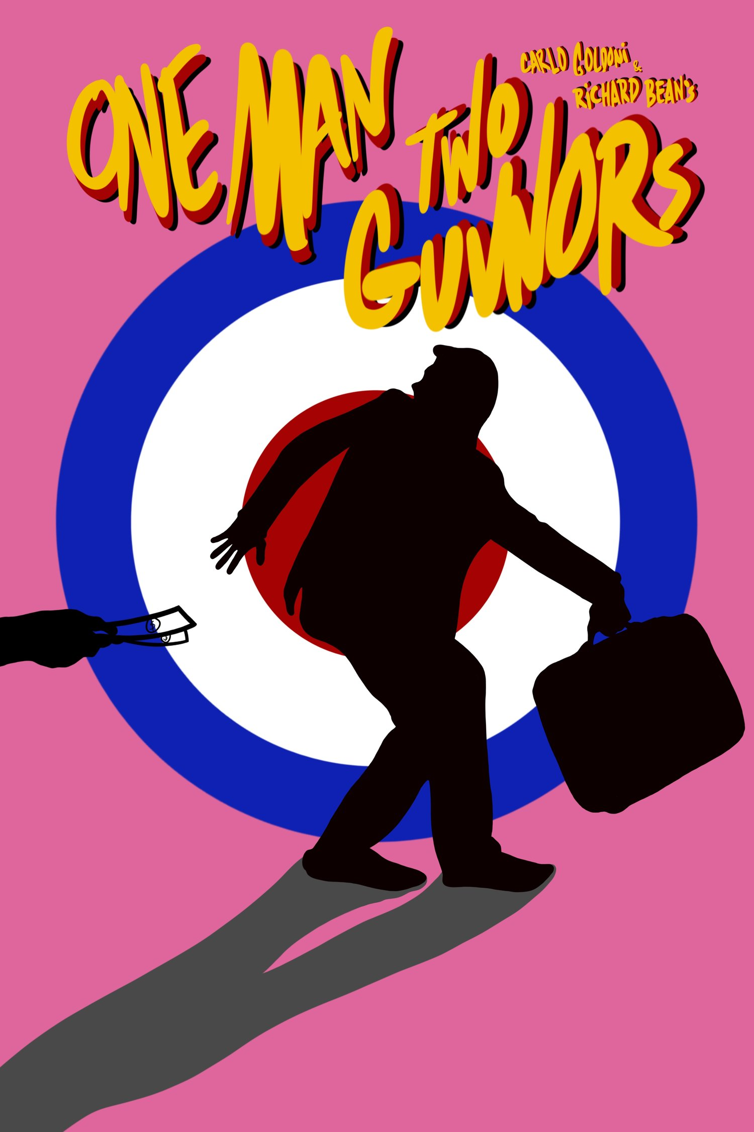 One Man Two Guvnors - Rachel CroweQuintessence Theatre June 5th-30th, 2019