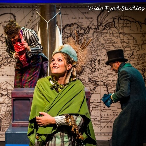"""Aouda in """"Around the World in 80 Days"""" at Hedgerow Theatre Company"""