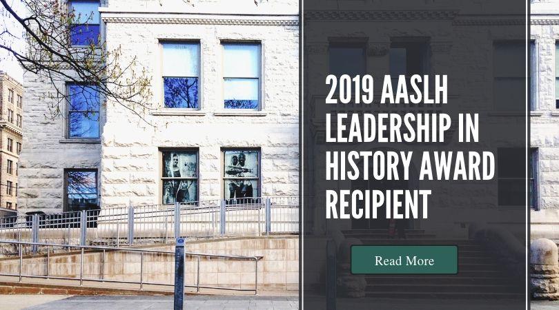 2019 AASLH Award