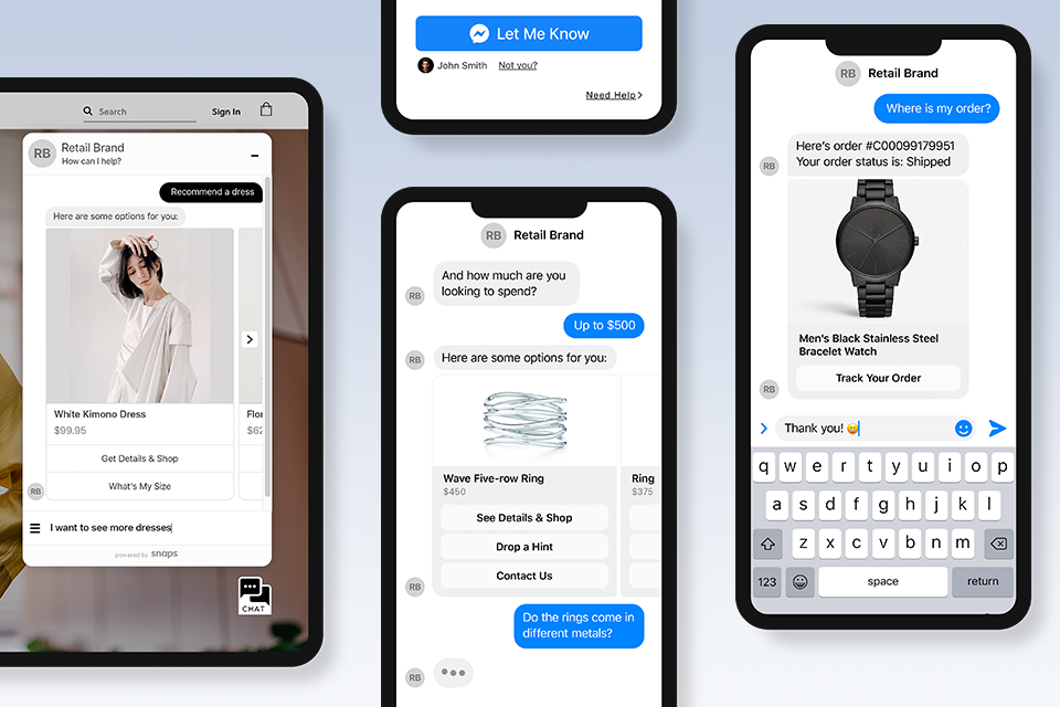 8 Benefits to Investing in a Chatbot Instead of An App — Snaps: The  Platform for Conversational AI