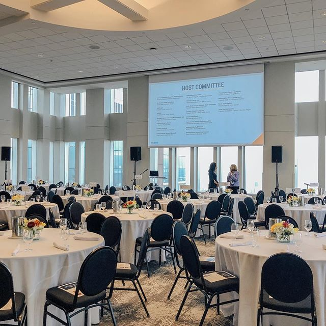 The Greater Philadelphia Cultural Alliance made opening our doors at 5:00am worthwhile! 🌇  #breakfastmeetings #vueon50events #corporateevents #perfectsettingcatering #views #philadelphiaevents #eventvenues