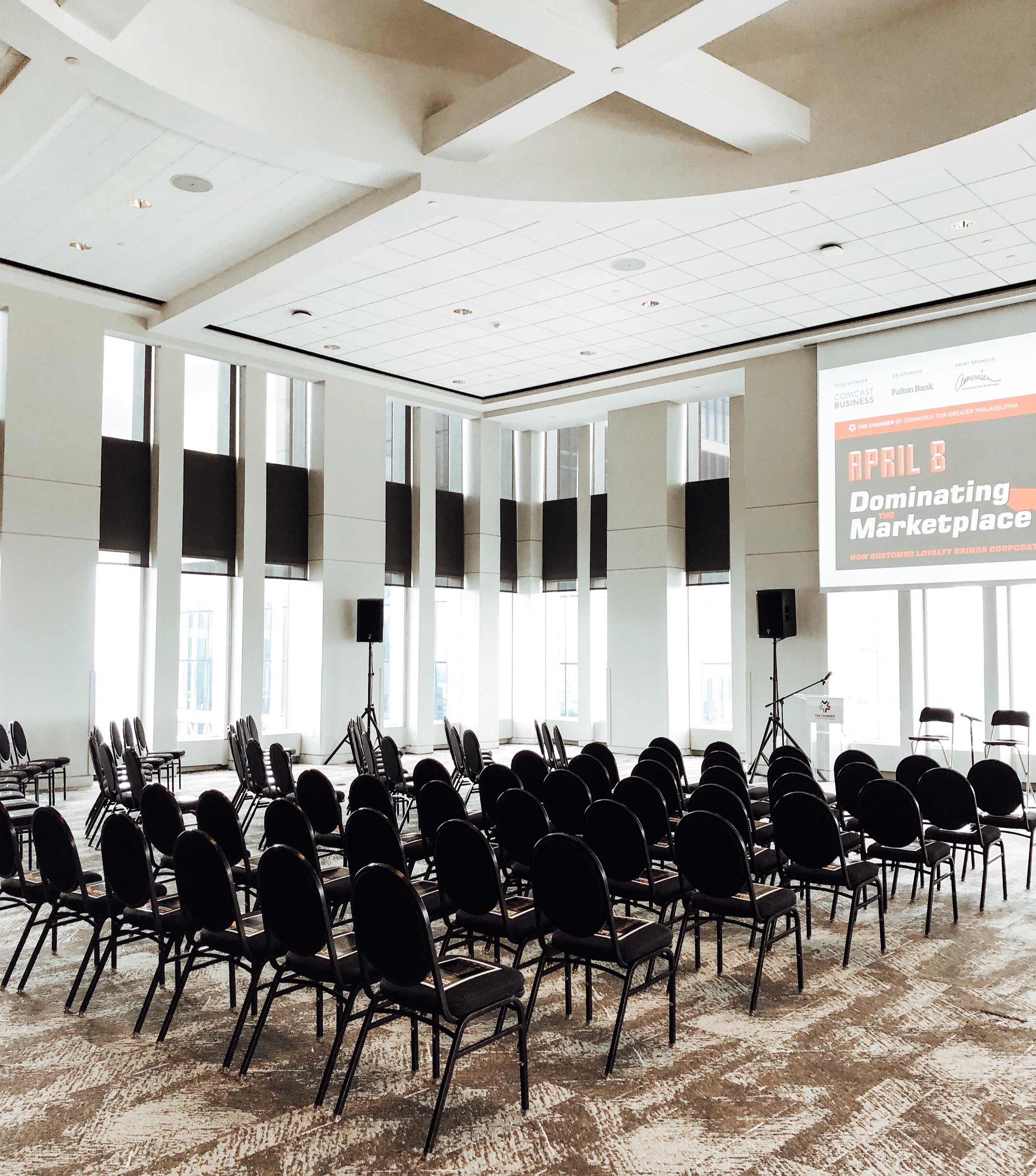 Views & Flexibility - VUE on 50's goal is to stretch the limitations on conference and event space. With panoramic views as grand as ours, and the flexibility within our walls, we strive to be a competitive, and also quite unique solution to the standards of banquet event space.