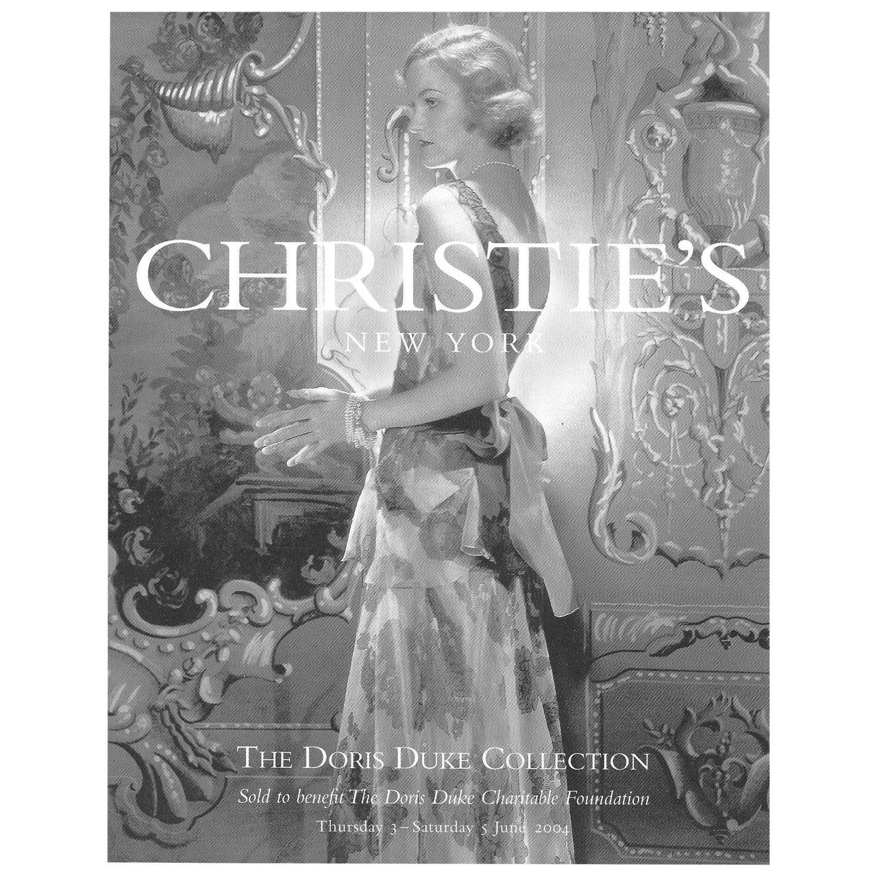 Christie's Auction Catalogue   Ensuring the accurate translation of world-renowned artwork into both large-format visuals and print was a tremendous responsibility. For this eager art enthusiast, trips into the vaults to view originals were an unforgettable privilege.