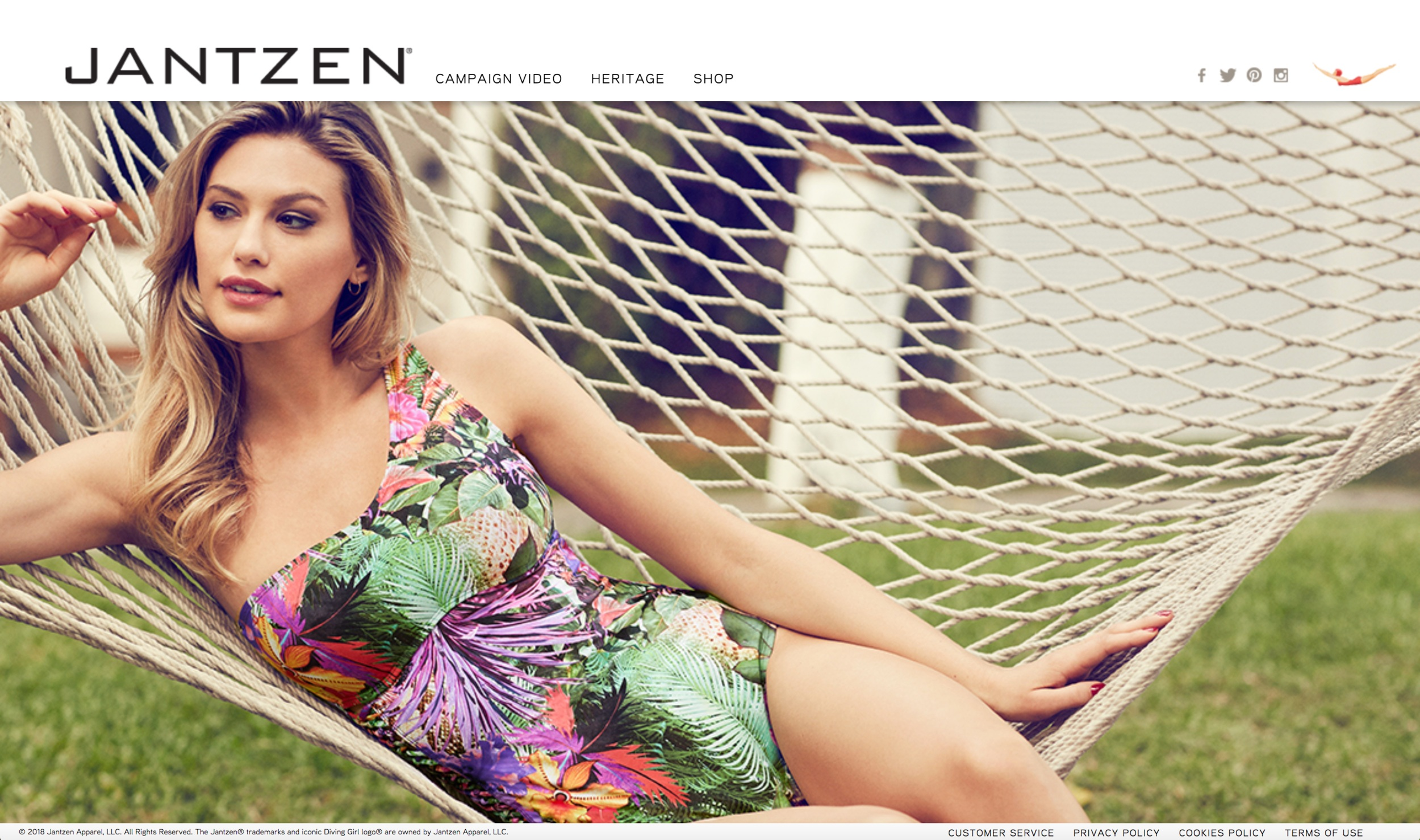 Jantzen Website   When Perry Ellis International took over Jantzen's web presence, everything had to undergo a polish and refresh. From look and feel to UX and dev, I managed this transition. The site is still working off the original build more than a decade later.
