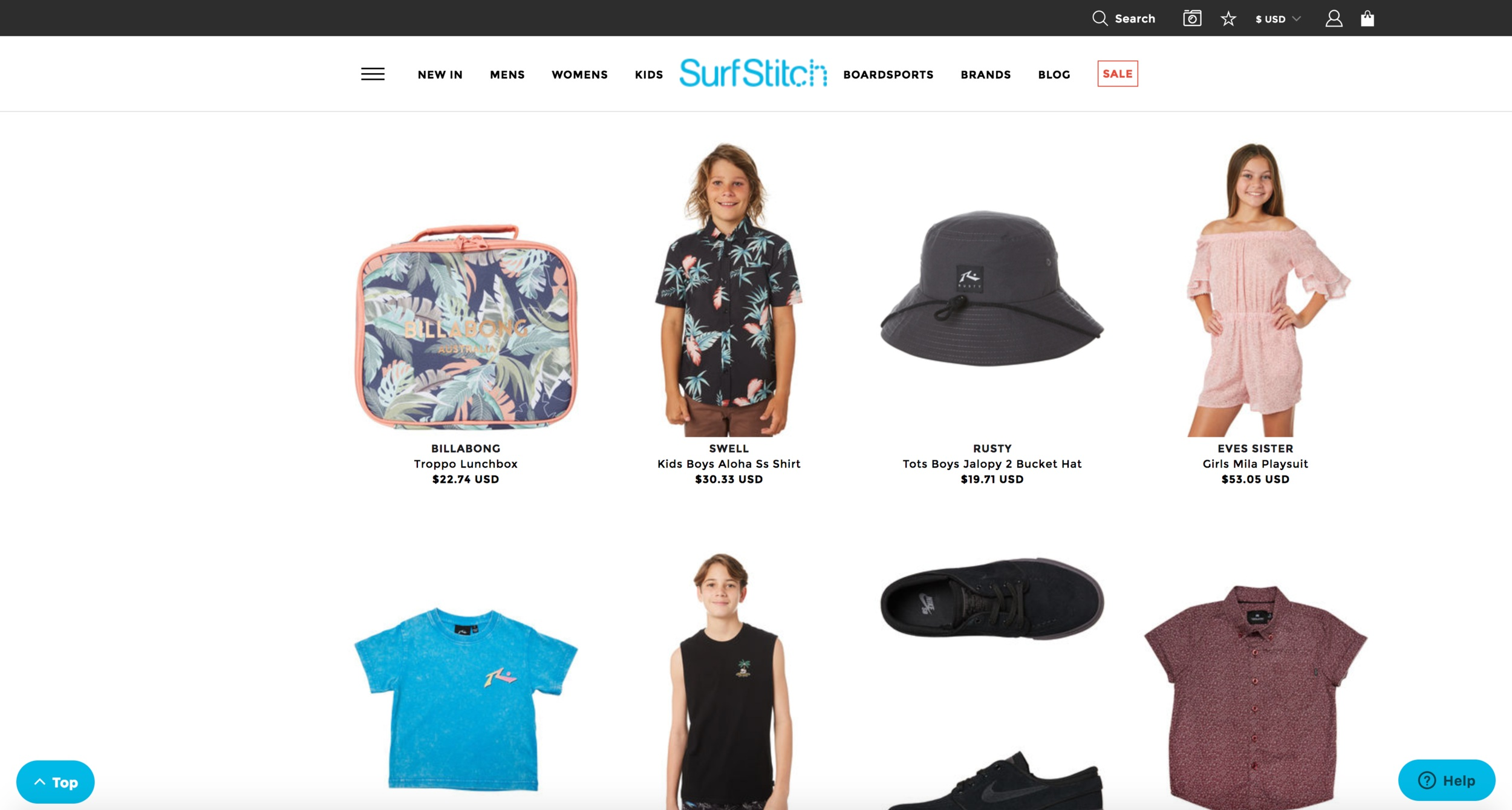SurfStitch Website   When the founders of SurfStitch wanted to take their idea into the retail space, I was able to paddle out to help strategize and plan branding, site development and e-commerce. These days they're the world's largest online action sports and youth apparel network. Dude.