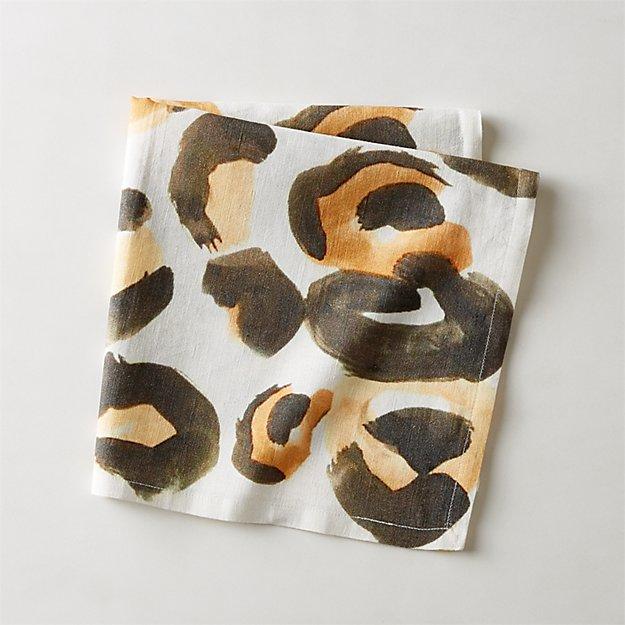 Cheetah Print Napkin