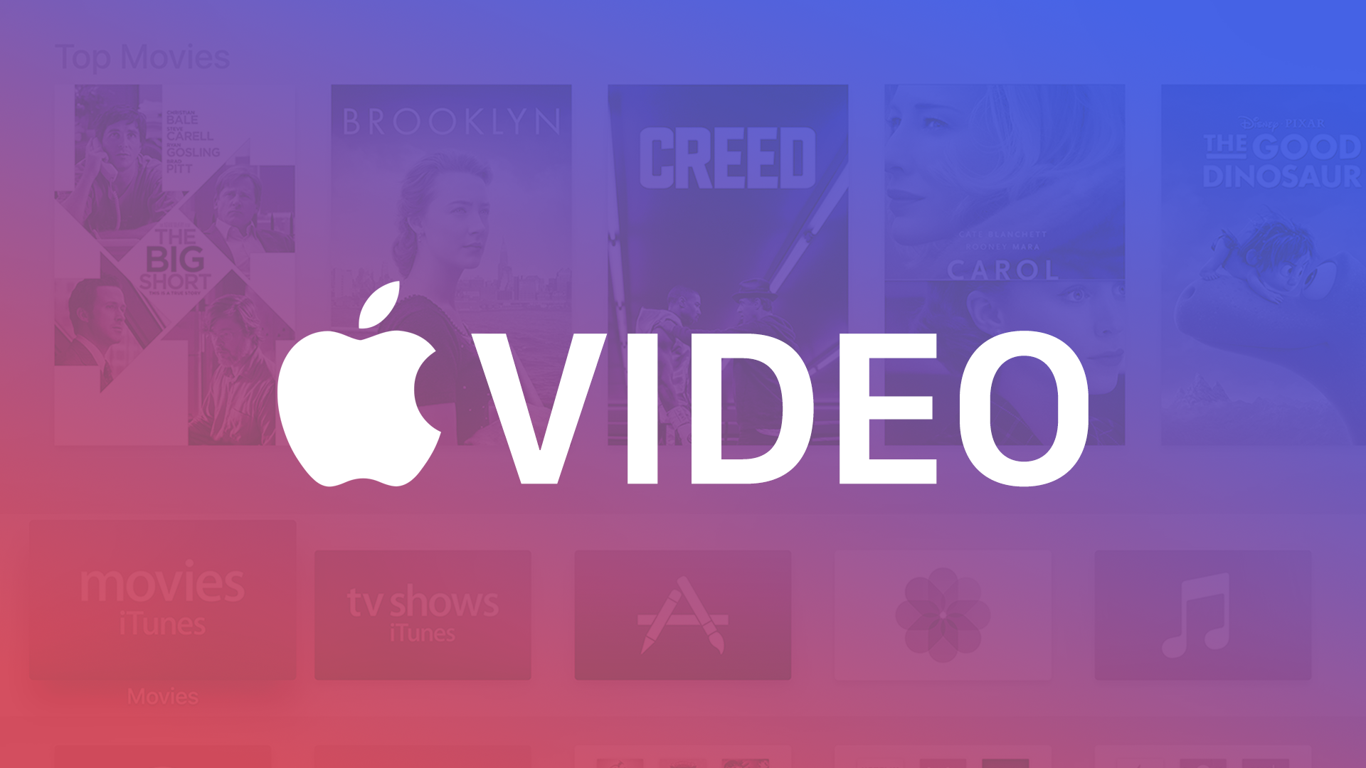 APPLE'S RUMOURED VIDEO STREAMING SERVICE COULD ARRIVE VERY SOON